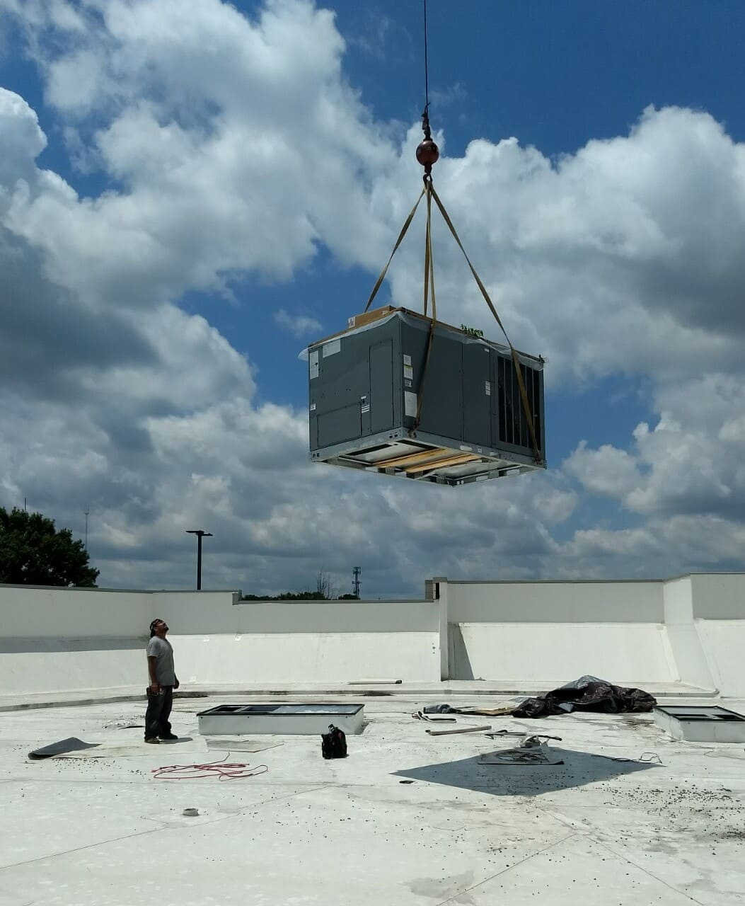 ac commercial installation